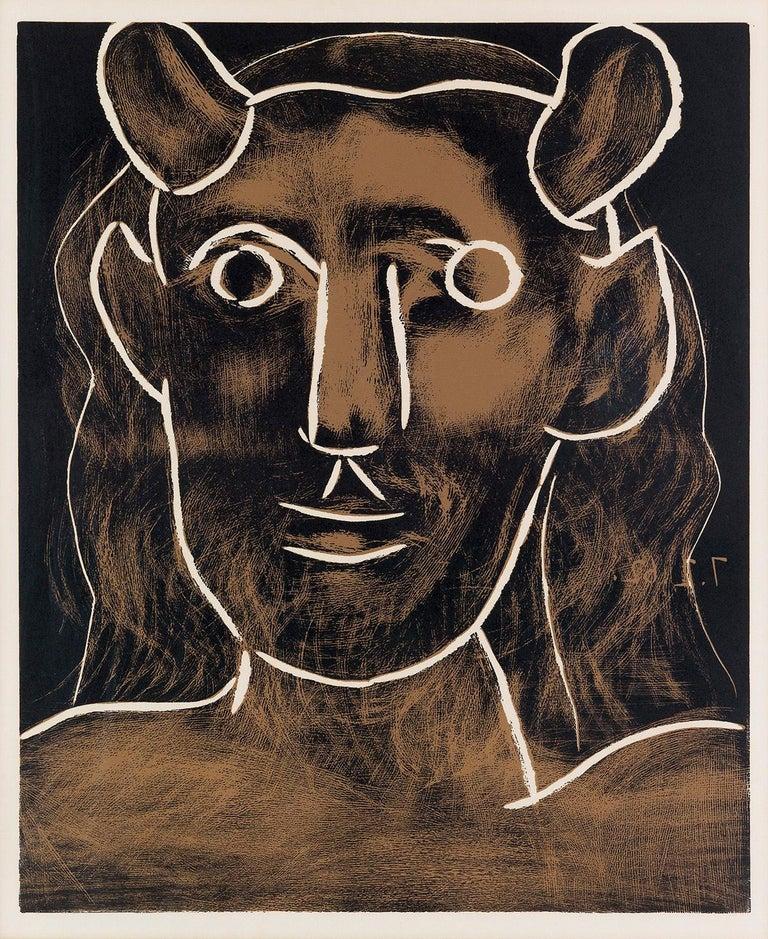 Pablo Picasso Animal Print - Tête de Faune