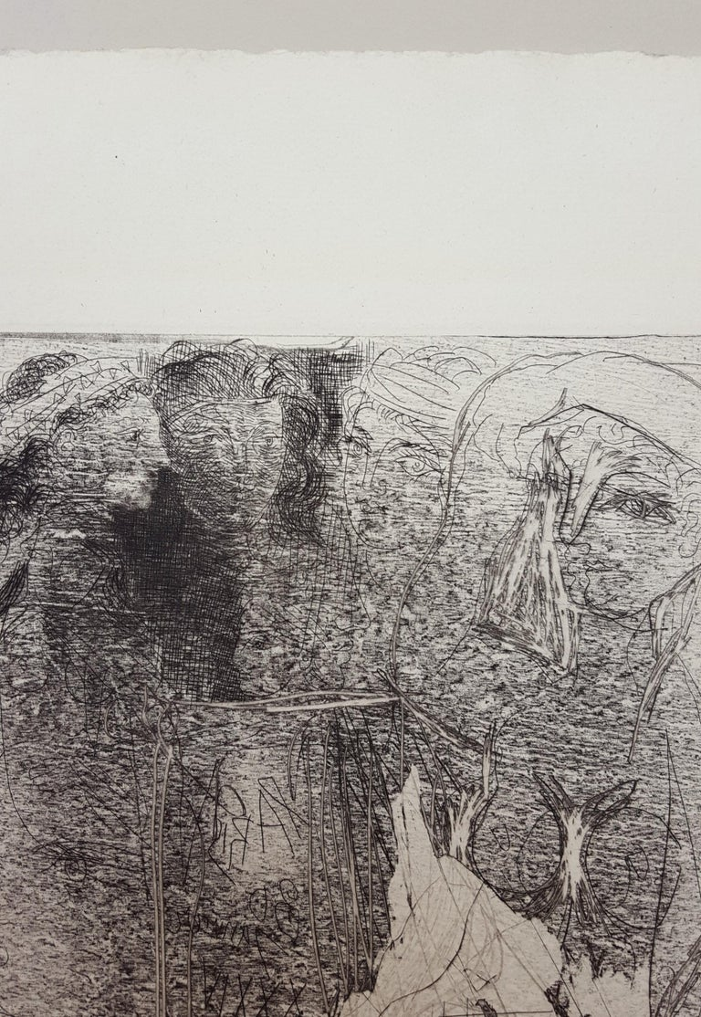 Têtes et Figures Emmêlées (Tangled Heads and Figures) For Sale 2
