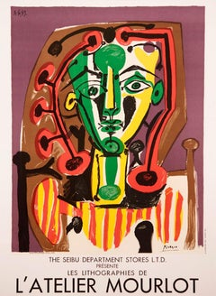 The Seibu Department Stores, lithographies de L'Atelier Mourlot by Pablo Picasso
