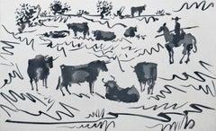 Toros en el Campo (Bulls in the Field)