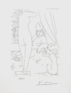 Two Nudes and Man (The Vollard Suite)