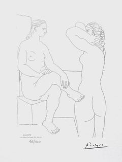 Two Nudes (The Vollard Suite)