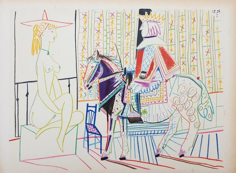 Untitled (Revue Verve) - Print by Pablo Picasso