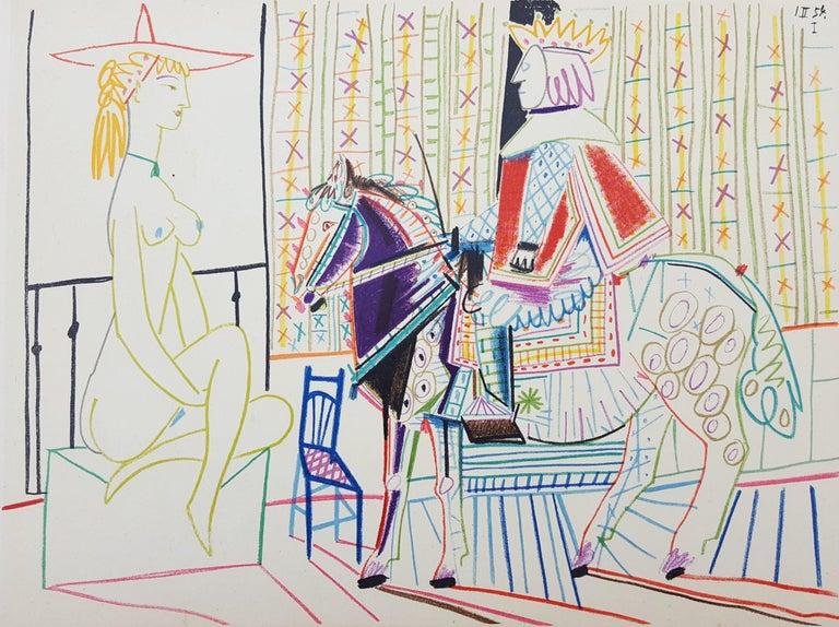 Pablo Picasso Figurative Print - Untitled (Revue Verve)