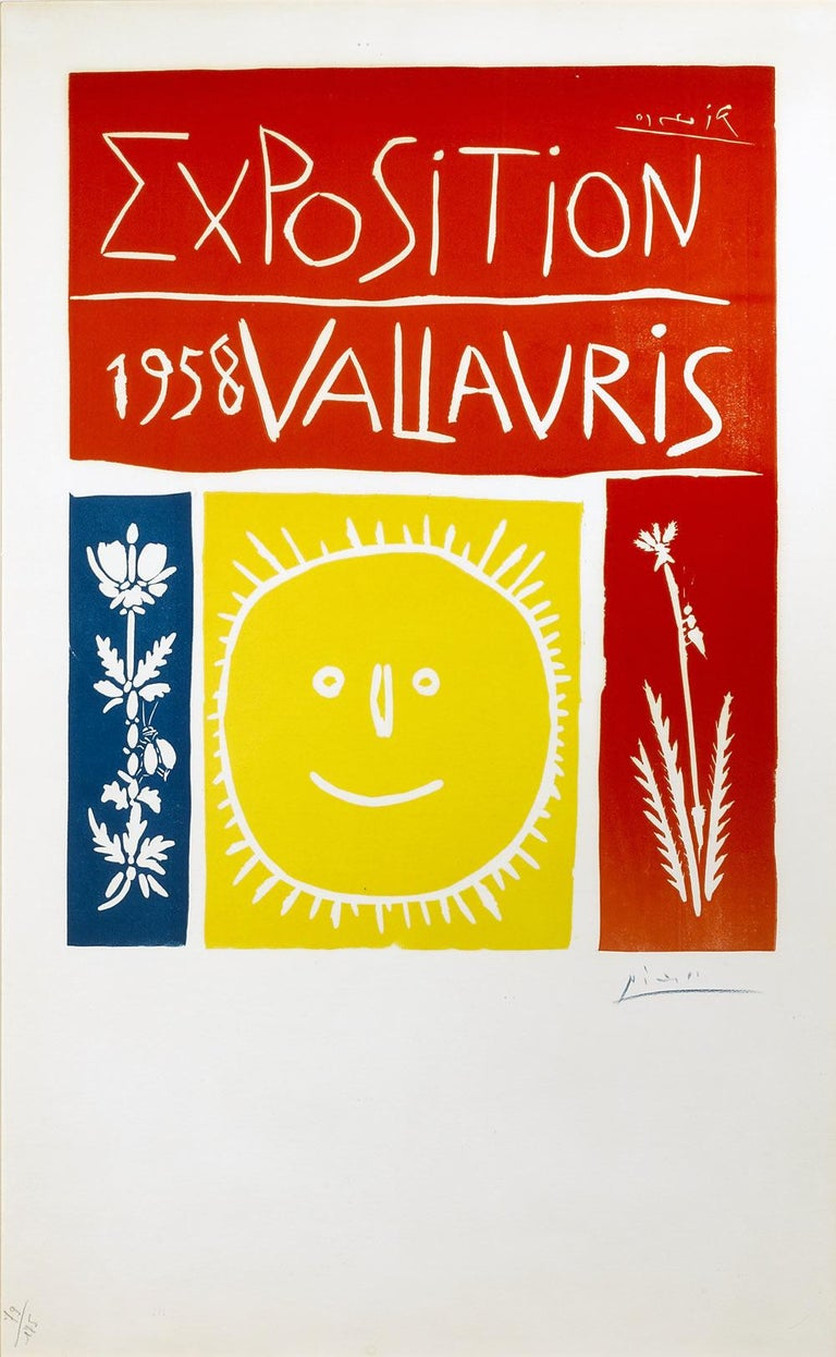 Vallauris 1958 Exposition - Print by Pablo Picasso
