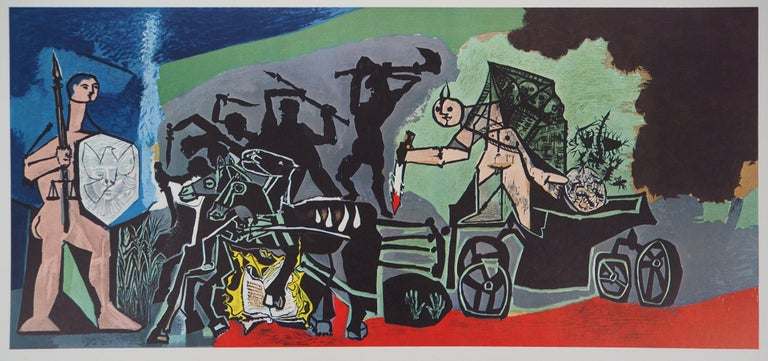 War - Offset-lithograph, 1969 - Print by Pablo Picasso