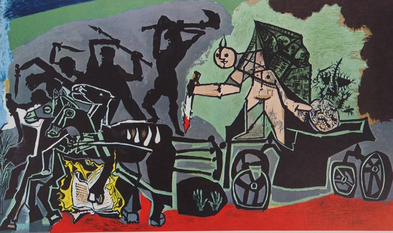 War - Offset-lithograph, 1969 - Modern Print by Pablo Picasso