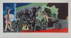 War - Offset-lithograph, 1969