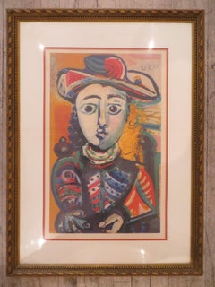 Young Woman Armchair  Pablo Picasso Limited Print