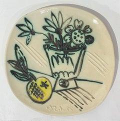 Bouquet de Pommes, Picasso, Edition, Sculpture, Design, Ceramic, Earthenware