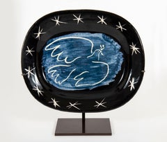 Bright dove, Pablo Picasso, Ceramic, 1950's, Sculpture, Madoura Vallauris, Ramié