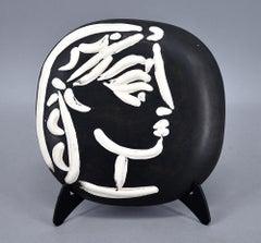 Ceramic, Profil de Jacqueline (Jacqueline's Profile), A.R. 385
