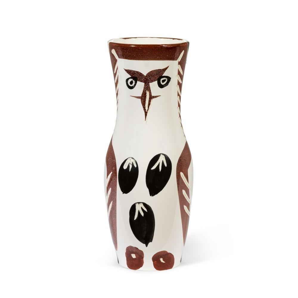Chouette, Pablo Picasso, 1950's, Design, Decorative, Sculpture, Terracotta