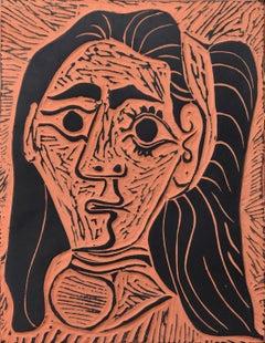 Femme au Cheveux Flous (Fluffy-haired Woman), A.R. 520