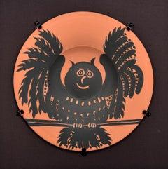 Hibou aux ailes déployées (Owl with spread wings), 1957