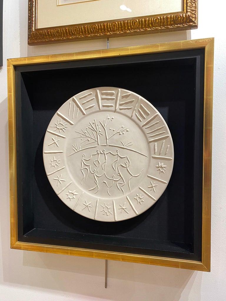 Joie de Vivre - Sculpture by Pablo Picasso