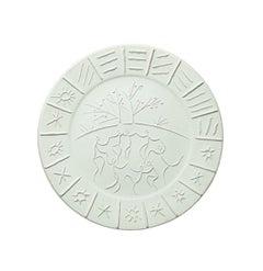 Madoura Ceramic Plate- Joie de Vivre, Ramié 346