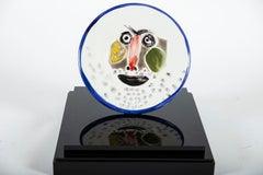 Pablo Picasso Ceramic Plate A.R. 496 Face No. 203