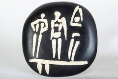 Pablo Picasso Ceramic The Three Swimmers Ceramic Sculpture Art — AR 385