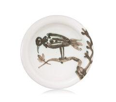 Pablo Picasso Madoura Ceramic Ashtray - Oiseau sur la branche, Ramié 175