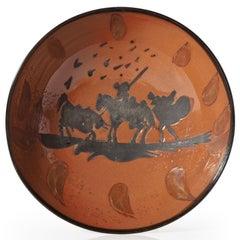 Pablo Picasso Madoura Ceramic Bowl - Picador , Ramié 211
