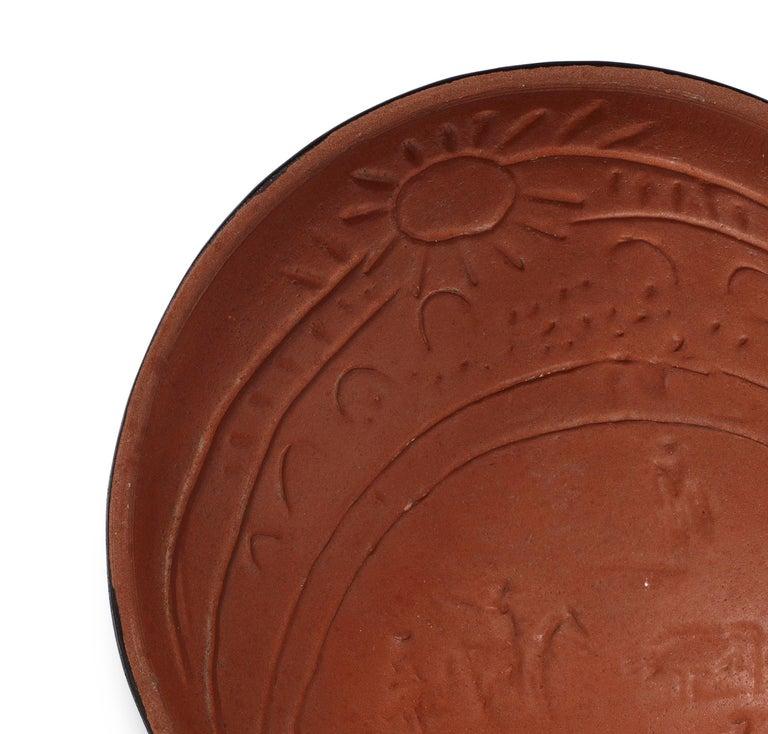 Pablo Picasso Madoura Ceramic Bowl, 'Scène de tauromachie' AR 239 - Cubist Sculpture by Pablo Picasso