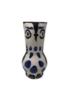 Pablo Picasso Madoura Ceramic Pitcher - Cruchon hibou , Ramié 293