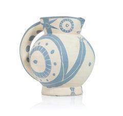 Pablo Picasso Madoura Ceramic Pitcher - 'Petite Chouette,' Ramié 82