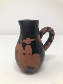 Pablo Picasso Madoura Ceramic Pitcher - Picador, Ramié 162