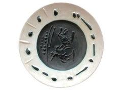 Pablo Picasso Madoura Ceramic Plate - 'Picador,' Ramié 200