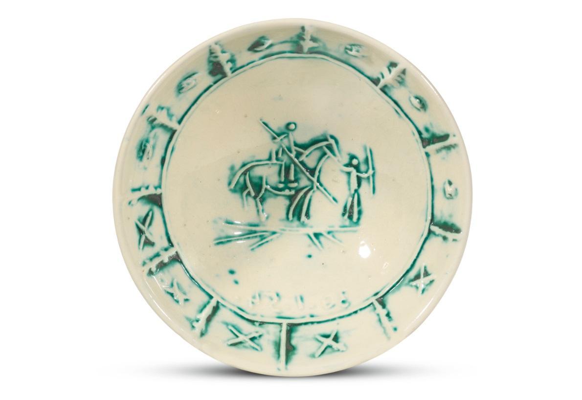Pablo Picasso Madoura Ceramic Bowl - 'Picador,' Ramié 229