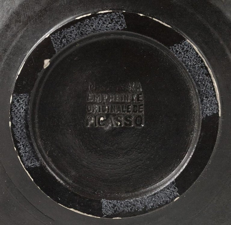 Pablo Picasso Madoura Ceramic Plate 'Sylvette' Ramié 266 - Abstract Sculpture by Pablo Picasso