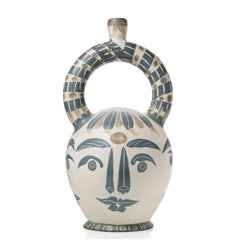 Pablo Picasso Madoura Ceramic Vessel 'Vase aztèque aux quatre visage' Ramié 402