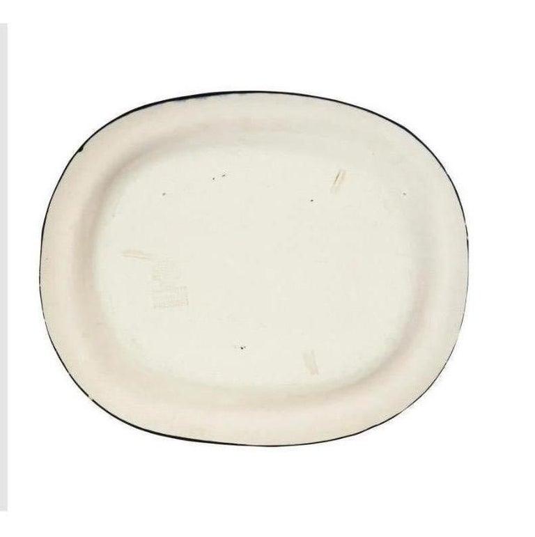 Pablo Picasso Madoura, Nature Morte, Glazed ceramic plate, Ramie 219 - Black Still-Life Sculpture by Pablo Picasso