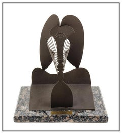 Pablo Picasso Steel Sculpture The Lady Daley Center Chicago Modern Cubism Art