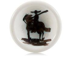Picador, Pablo Picasso, Ashtray, Design, Sculpture, Ceramic, White, Edition