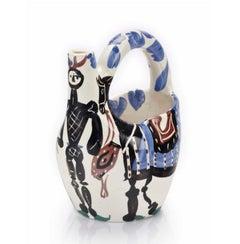 """Picasso Madoura Ceramic Pitcher """"Cavalier et cheval""""  Ramié 138"""