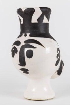 Picasso Madoura Ceramic Pitcher Chouette Femme, Ramié 119