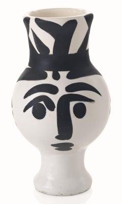 Picasso Madoura Ceramic Pitcher 'Chouette Femme', Ramié 119