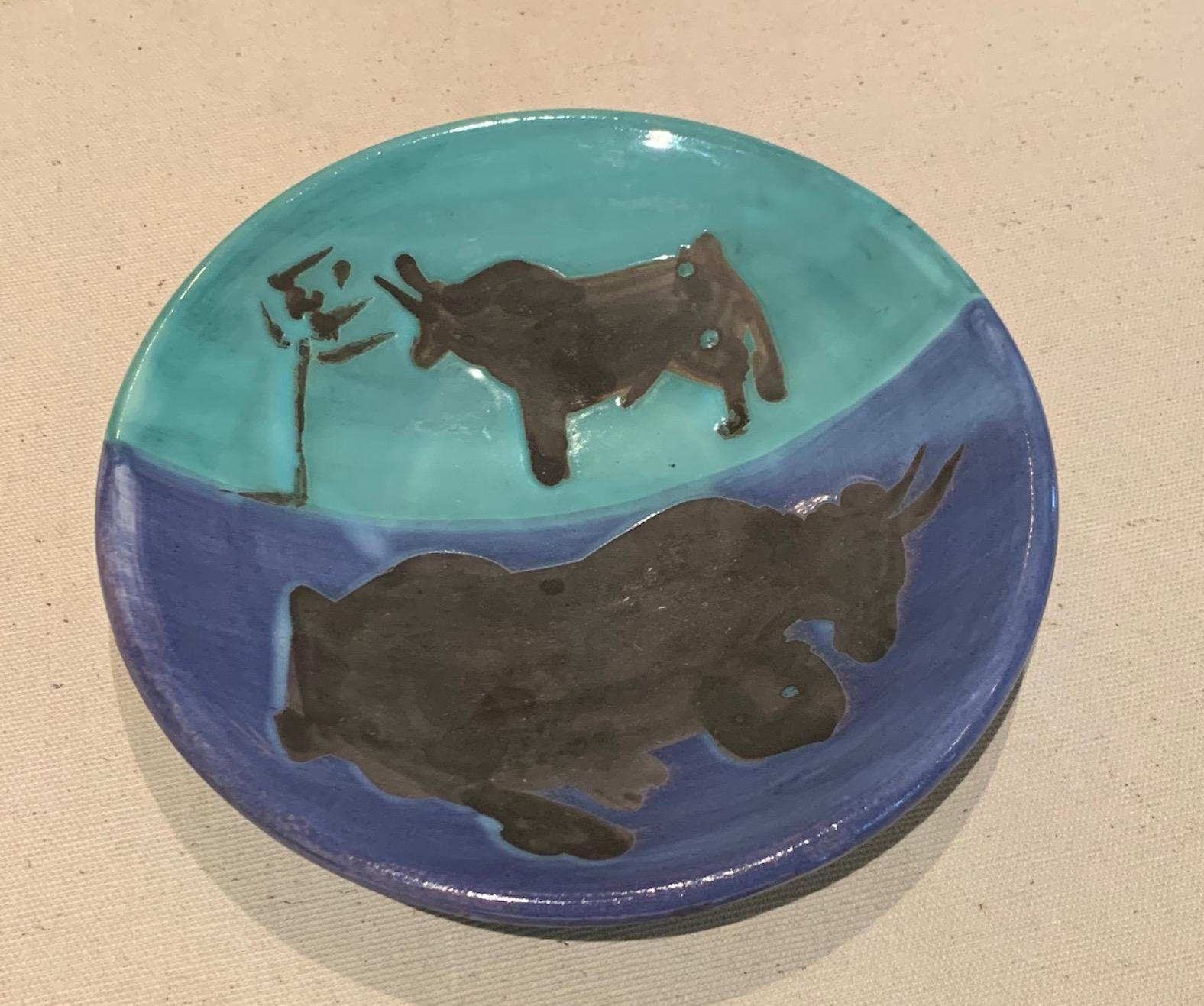 Picasso Madoura Ceramic Ramie 161 Toros