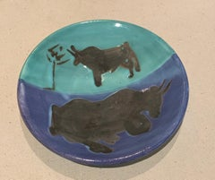 Picasso Madoura Ceramic Ramie 161 Bulls
