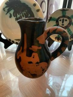 Picasso Madoura Ceramic Ramie 162 Bullfighter Jug