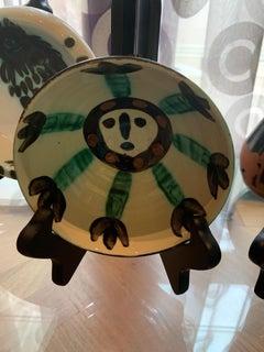 Picasso Madoura Ceramic Ramie 290 Visage