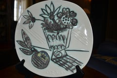 Picasso Madoura Ceramic Ramie 307 Bouquet A La Pomme