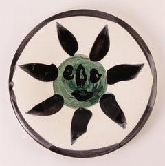 Visage #127 Ramie 478 Picasso Madoura Ceramic