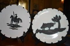 Picasso Madoura Ceramics Ramie 159 and Ramie 160