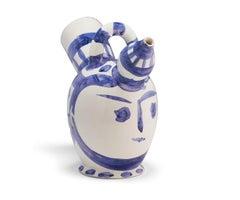 Pichet à glace, Pablo Picasso, Ceramic, 1950's, Postwar, Sculpture, Interior