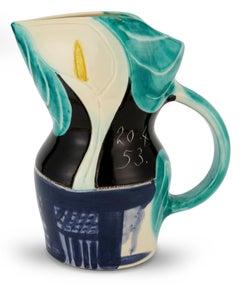 Pichet aux Arômes, Pablo Picasso, Pitcher, Design, Sculpture, 1950's, Ceramic