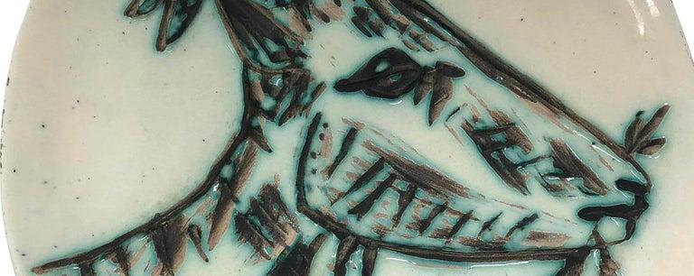 Ramie 109 Picasso Madoura Ceramic Tête de Chèvre de Profil - Cubist Sculpture by Pablo Picasso