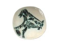 Ramie 109 Picasso Madoura Ceramic Tête de Chèvre de Profil